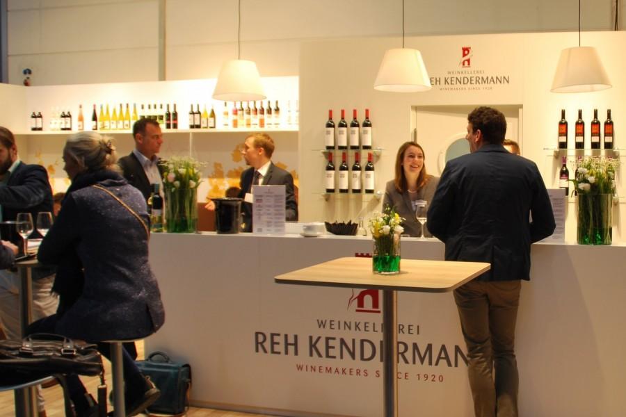 Reh Kendermann auf der ProWein 2017