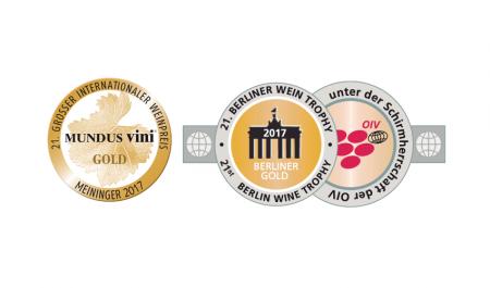 18 Goldmedaillen für Weine von Reh Kendermann