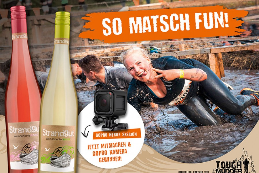 """So matsch fun"" mit Strandgut"