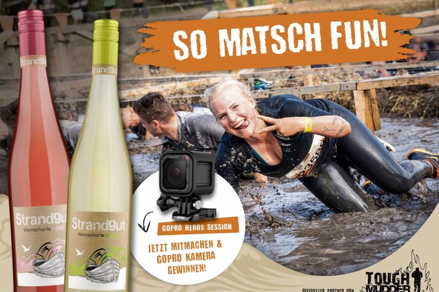 Strandgut ist offizielle Partner von Tough Mudder
