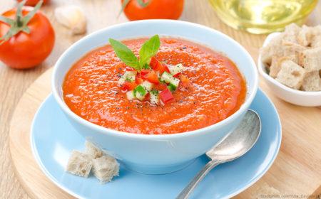 Rezeptidee: Gazpacho  Mediterrane Erfrischung für laue Sommerabende