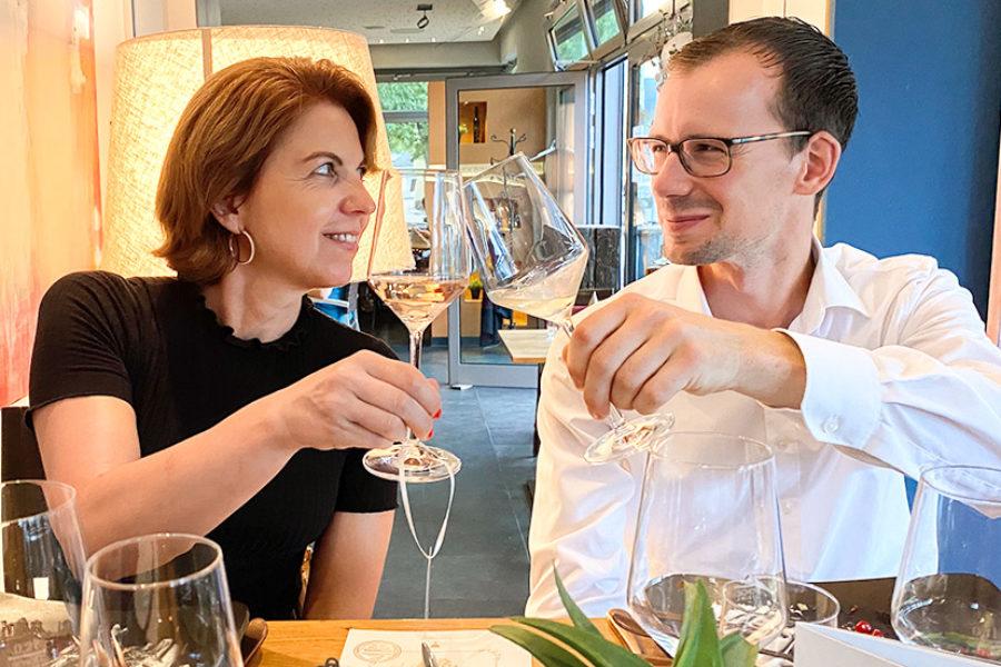 100 Jahre Reh Kendermann: Weinprobe in der Vinothek Bingen