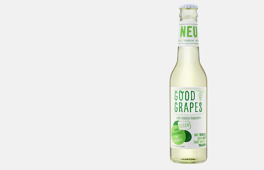 Good Grapes: Der ursprünglichste Frischekick seit es Trauben gibt